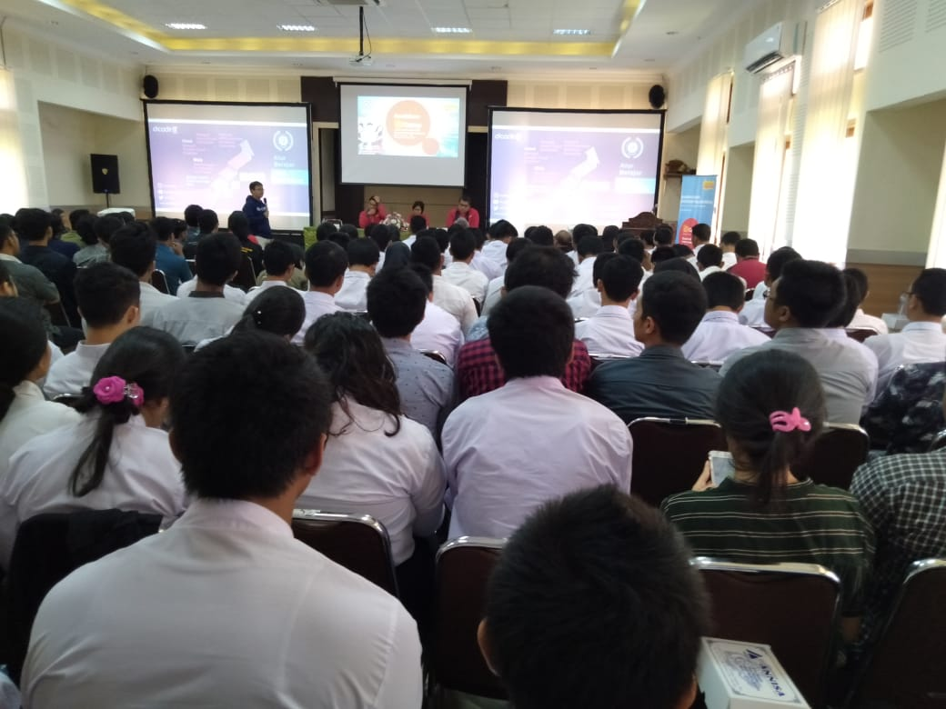 Roadshow IDCamp di Kampus Udayana, Dukung Perkembangan Talent Digital
