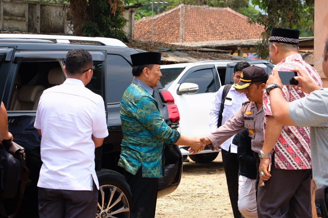 Menko Polhukam Wiranto diserang di Pandeglang Banten