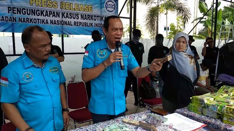 Sumut Peringkat Kedua Pengguna Narkoba di Indonesia