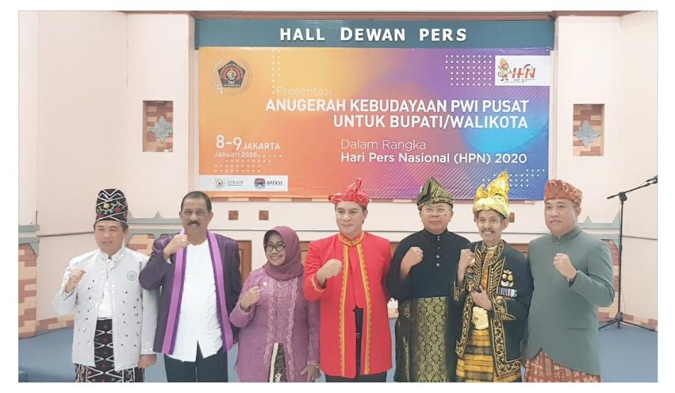 Masuk Nominasi Anugerah Kebudayaan, Bupati Sergai Hadir di PWI