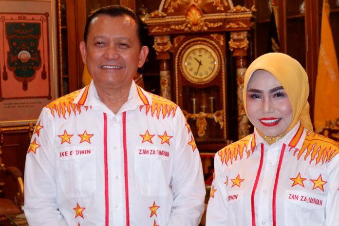 Ike-Zam (IKAM) Akan Wujudkan Bandar Lampung Sebagai Kota Teraman Di Indonesia