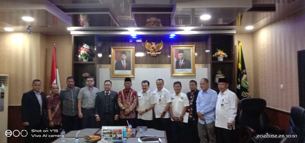 """Terkait RUU Cipta Kerja """"Omnibus Law,"""" Ketua DPRD Banten Tampung Masukan Lintas Sektor"""