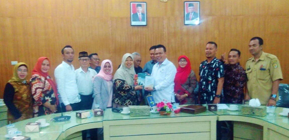 Rombongan DPRD Kabupaten Kuningan Belajar Literasi ke Serdang Bedagai
