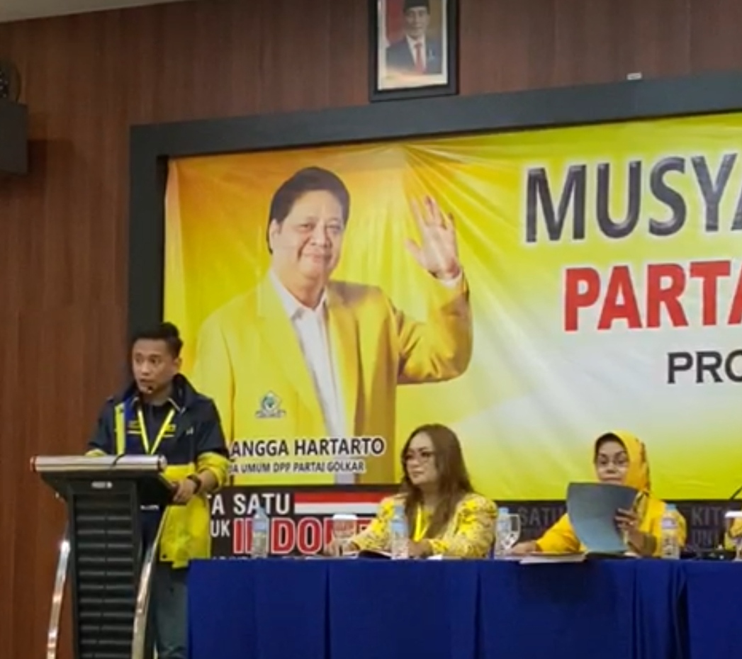 Radhan Nur Alam Ketua AMPI Ke Herry Asiku  Golkar Lebih Dekat Dengan Milenial AMPI