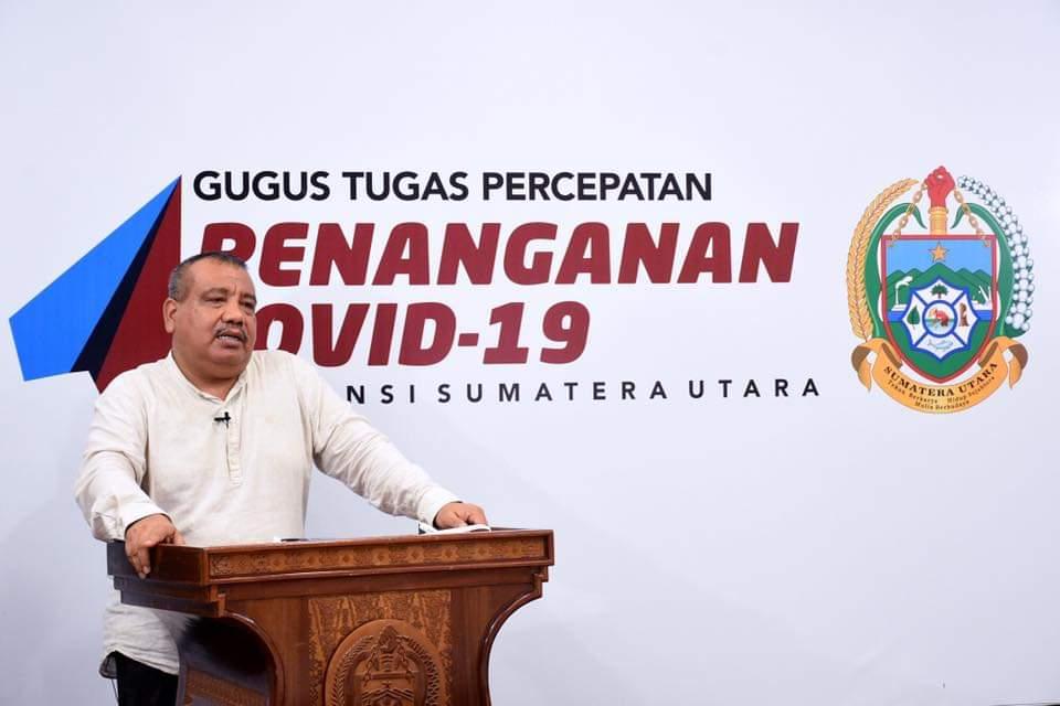 Terkait Wabah Covid-19 PWI Sumut Harapkan Wartawan Beritakan Informasi Yang Menyejukkan