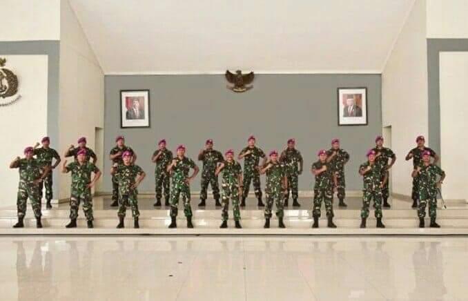 Perwira Menengah PASMAR 1, Syukuri Kenaikan Pangkat.
