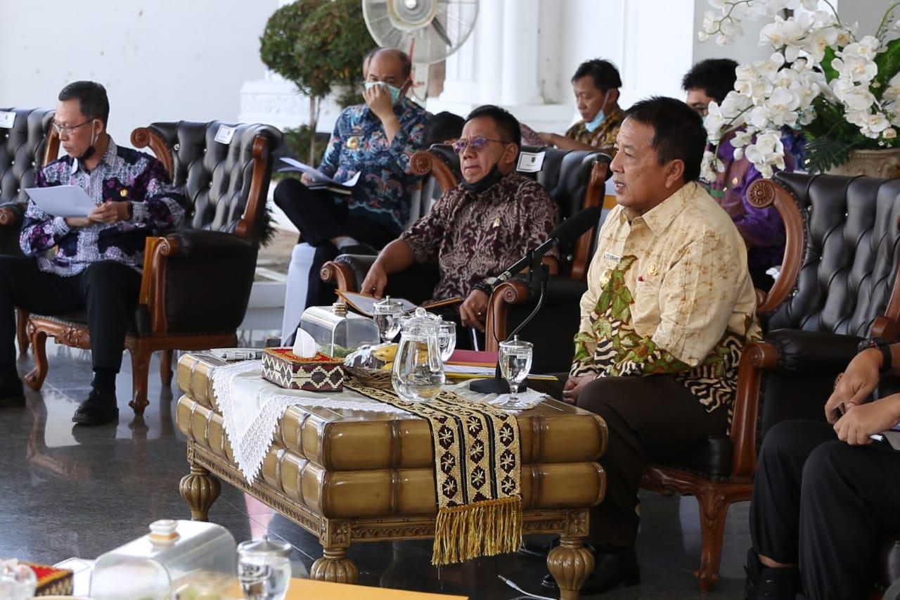 Gubernur Arinal Instruksikan Bupati/Walikota Lakukan Pengawasan Penyebaran Covid-19 di Kabupaten/Kota