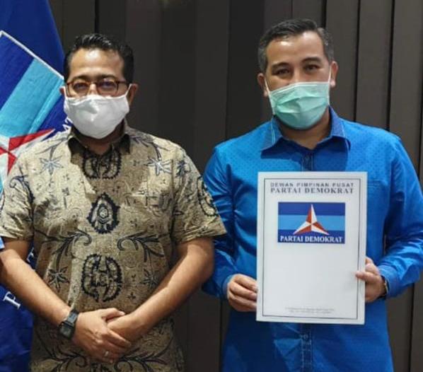 Pilkada Serentak, Petahana Pesawaran Dendi Ramadhona Resmi Kantongi Surat Tugas DPP Demokrat
