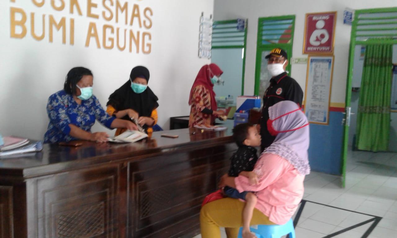 Terima Laporan Warga, JPKP Way Kanan Kembali Dampingi Pengobatan Balita Penderita Kurang Gizi di Kampung Bumi Agung