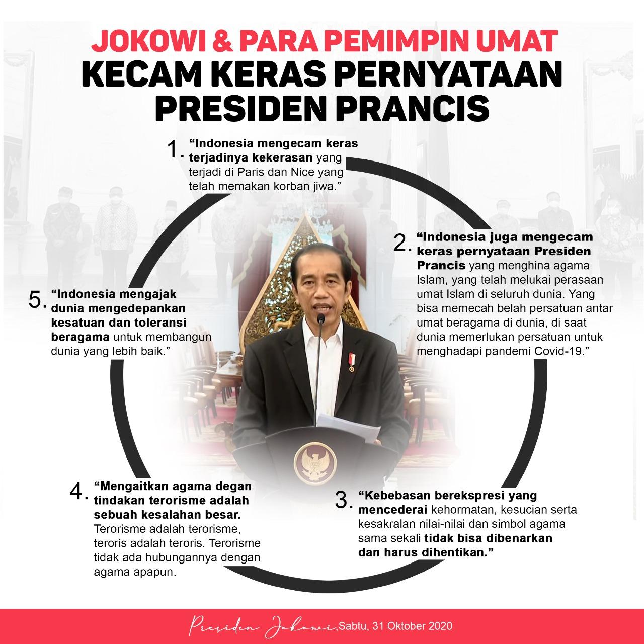 Presiden : Indonesia Mengecam Keras Pernyataan Presiden ...